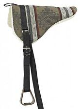 BUSSE Bareback pad SOUTH WEST Saddle with Stirrup