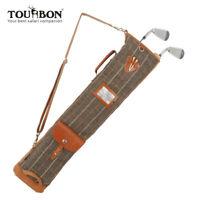 Tourbon Golfbag Tasche Faltbar Pencilbag Sunday Umhängetasche für Herren/Damen