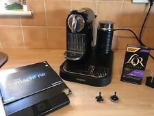 MAGIMIX NESPRESSO M190 CITZ & MILK COFFEE MAKER / MACHINE-PIANO BLACK & EXTRA`S