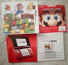 Juego Super Mario 3d land Nintendo 3ds