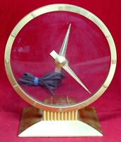 Jefferson Golden Hour Electric Mystery Clock - Shelf Mantel - Vintage - Working