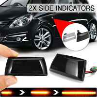 2x Dynamic LED Side Marker Indicators Repeaters For Opel Vauxhall   C*//