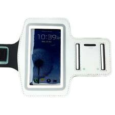 White Sports Running Gym Armband Arm Band Case for Samsung Galaxy S5 S4 S3 S2