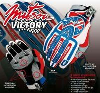GANTS CROSS USA BLEU TAILLE L GLOVE CROSS ENDURO TRIAL QUAD TOP Qualité