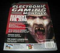 Vintage EGM Electronic Gaming Monthly Video Game Magazine NES PS 2002 issue 158