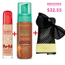 Bourjois Healthy Mix Serum  Foundation #52 Vanilla + Mousse + Sun Glasses SET