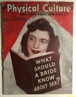PHYSICAL CULTURE Magazine December 1948 Jim Thorpe photo
