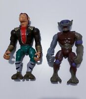 Evil Rhesus & Captain Charles Space Monkeys HEI & MPI 1995 Action Figure Toy