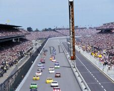 "Racing at the Brickyard 400 Indianapolis Motor Speedway 8""x 10"" Photo 46"