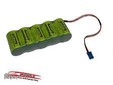 Leistungs Empfänger SANYO N-1700SCR 6V1700 mAh JR, Stecker frei wählbar...