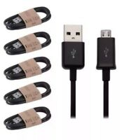 5X V8 USB 2.0 A-Micro B Data Sync Charge Cable OD3.8MM For Samsung HTC LG Sony