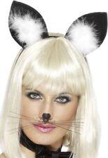 Smiffys Déguisement Femme oreilles de Chat avec Plumes sur Serre-tête 9206