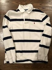 Polo By Ralph Lauren Rugby Stripped Long Sleeve Large
