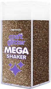 "Hemway Fine Craft Glitter MEGA Shaker - 1/64"" 0.015"" 0.4mm"