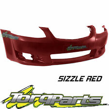 REPLACEMENT FRONT BAR COVER S RED SUIT VE OMEGA SERIES 2 COMMODORE HOLDEN BUMPER