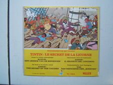 HERGE  TINTIN  /  DECALCO WILLEB /  LE SECRET DE LA LICORNE /  1978