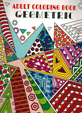 Adult Coloring Book - Geometric - NEW -