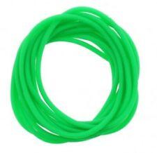 12 Pack Jelly Neon Green Gummy Bangles Bracelets Wristbands 80's Fancy Dress
