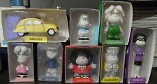 lot 8 Mafalda and friends + Citroen toy Mykoshi figure QUINO doll and car