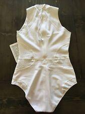 Lululemon Perfect Perf-ect Paddle Suit Swim Swimwear WHITE 8 10