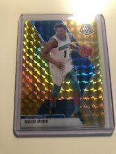 2019-20 MALIK MONK MOSAIC Choice  GOLD PRIZM /10 RARE