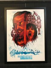 The Shining Jack Nicholson Horror Cult Movie Canvas Art 2017 NYCC Exclusive
