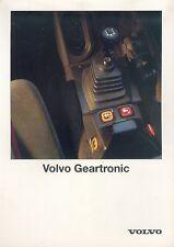 Volvo Truck Geartronic Prospekt NL 12/91 1991Broschüre Lkw Nutzfahrzeuge Europe