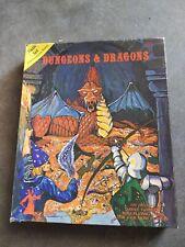 Vintage Dungeons & Dragons 1979 Basic Set #1001 In Original Blue Box 3rd Ed. TSR