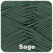 King Cole Giza Cotton 4 Ply 2417 Sage