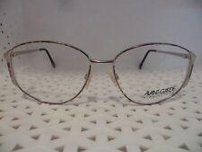Luxottica Avant Garde Norma Plum Burst Vintage 80's Womens Eyeglasses  (TF18 @