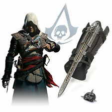 Assassin's Creed 4 Nero Bandiera Gauntlet Nascosta (McFarlane) Cosplay Replica