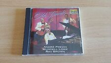 OLD FRIENDS - ANDRE' PREVIN/MUNDELL LOWE & RAY BROWN - CD COME NUOVO (MINT)