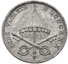 STATO PONTIFICIO SEDE VACANTE 1830 RARA E DI GRANDE QUALITA'  ITALY