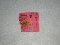 Rolling Stones Concert Ticket Stub August 1975 Orchard Park NY Tour of Americas