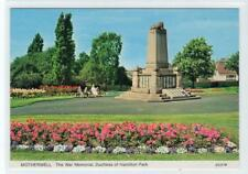 THE WAR MEMORIAL, DUCHESS OF HAMILTON PARK: Lanarkshire postcard (C31124)
