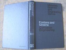 Corrosion Engineering Fontana and Greene 1967