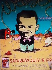 Weezer Fillmore Poster Pulsars Flourecein Original Bill Graham F279 St. Weissman