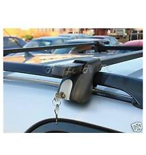 car Quality Universal roof bars lockable box or bike rack locking cross bar rail