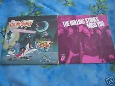 """45T 7"""" THE ROLLING STONES  : LOT DE 2  !!!!!!"""