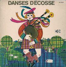 EP + LIVRET--FOLKLORE ET DANSES D'ECOSSE--CLAUDE FLAGEL