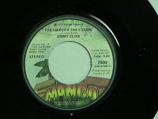JIMMY CLIFF The Harder They Come/You Can Get It If You... MANGO 7500 M- Listen!!