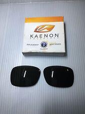 GENUINE-Kaenon Burnet Polarized Lenses SR-91 G12- Part #401-017 Gray/Green Color