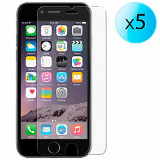 """5x PROTECTOR SCREEN ULTRA CRYSTAL CLEAR FOR APPLE IPHONE 6 4.7"""" 16 124 GB"""