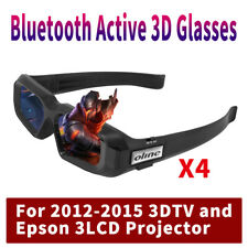 4X Universal Active 3D Glasses for Sony Samsung Sharp 3DTV  Epson 3LCD Projector