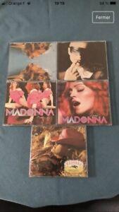 Lot Cd Single Jewel Case Madonna Tres Bon Etat