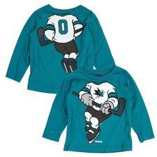 "San Jose Sharks Reebok NHL Toddler Teal ""Dream Hockey"" Team Long Sleeve T-Shirt"