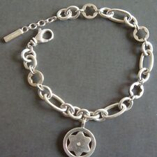 bracelet MONTBLANC Star Signet diamant argent massif. 455€ (2)