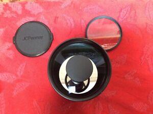 Sakar MC 500mm F/8 mirror lens for Pentax K mount