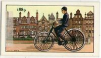 1889 Dunlop Pneumatic Tire Bicycle England Vintage Trade Ad Card