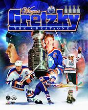 Wayne Gretzky THE GREAT ONE Edmonton Oilers Career 1978-88 Premium POSTER Print